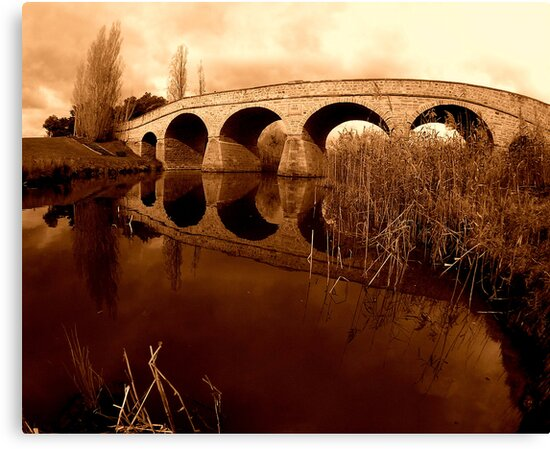Richmond Bridge, Tasmania... by JAZ art