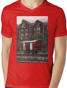 MOGO colour version Mens V-Neck T-Shirt