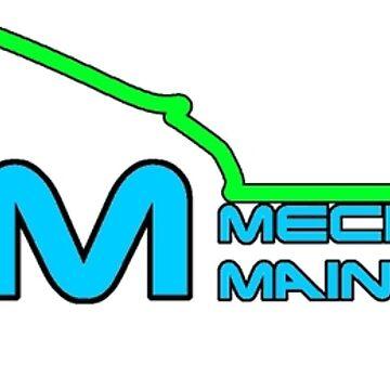 DRM Mechanical and Maintenance - Porsche Logo by khanzie