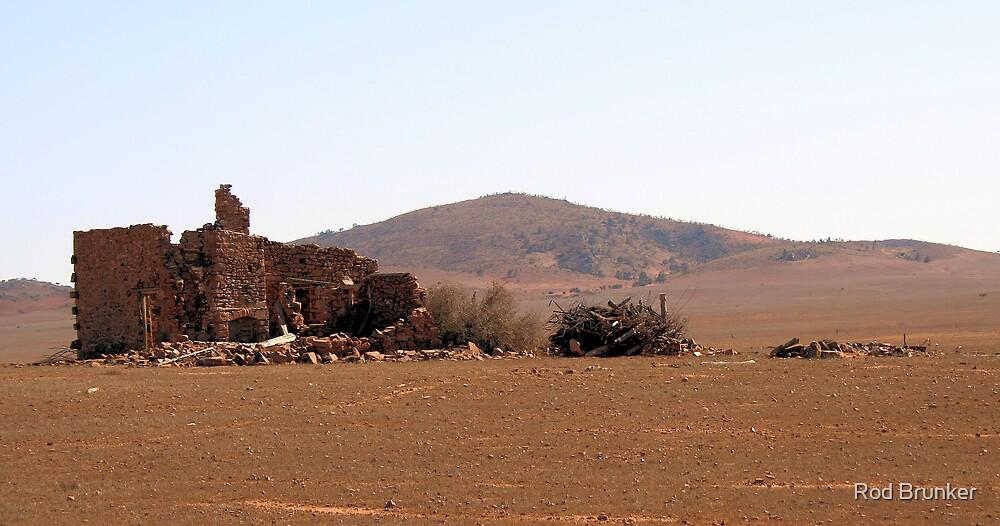 Flinders Rangers Ruins by Rod Brunker