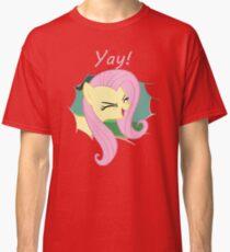 Yay!! Fluttershy Classic T-Shirt