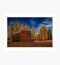 Derwent Valley Barn Art Print