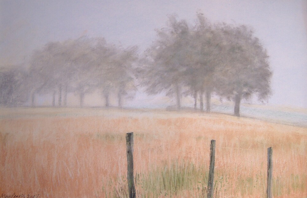 Early morning mist Charent SOLD by alanpeach