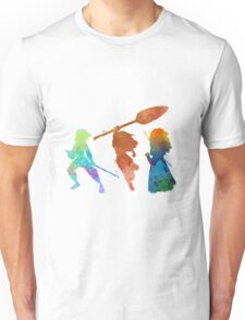 Powerful Princesses Inspired Silhouette Unisex T-Shirt