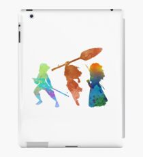 Powerful Princesses Inspired Silhouette iPad Case/Skin
