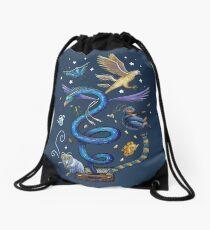 Fantastic suitcase Drawstring Bag