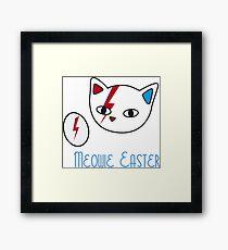 Meowie Easter egg 2 Framed Print