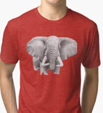 WISE ELEPHANT Tri-blend T-Shirt