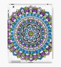 Cool Colours Mandala  iPad Case/Skin