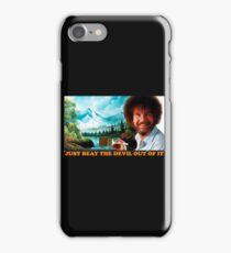 bob ross iPhone Case/Skin