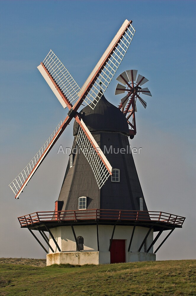 Windmill by Andreas Mueller