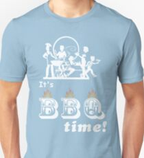 Barbecue Party Time Unisex T-Shirt