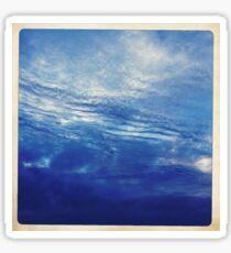 Sky or Water ? Sticker