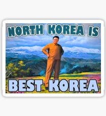 North Korea Best Korea  Sticker