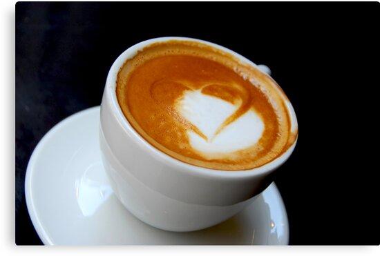 Coffee heart by Elena Elisseeva