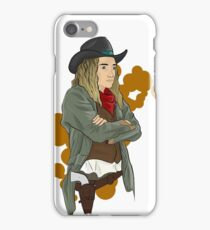 cowgirl sara 2 iPhone Case/Skin
