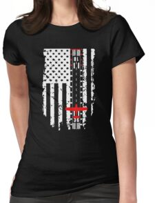 Aviation Runway Flag Womens Fitted T-Shirt