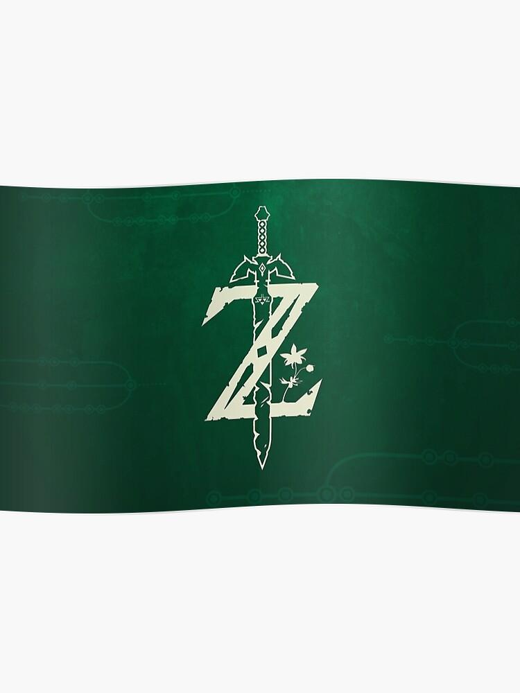 Zelda: Breath of The Wild Master Sword Logo