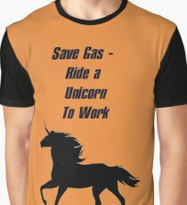 Save Gas Graphic T-Shirt