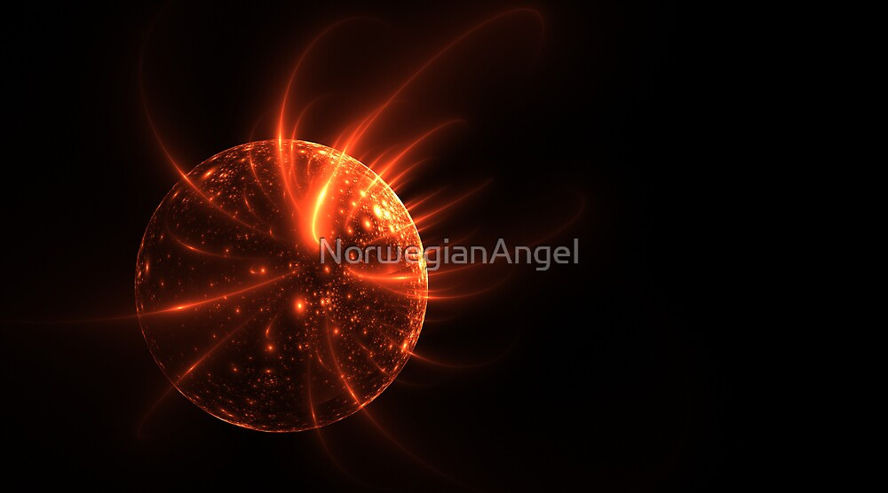 Solarflares by NorwegianAngel