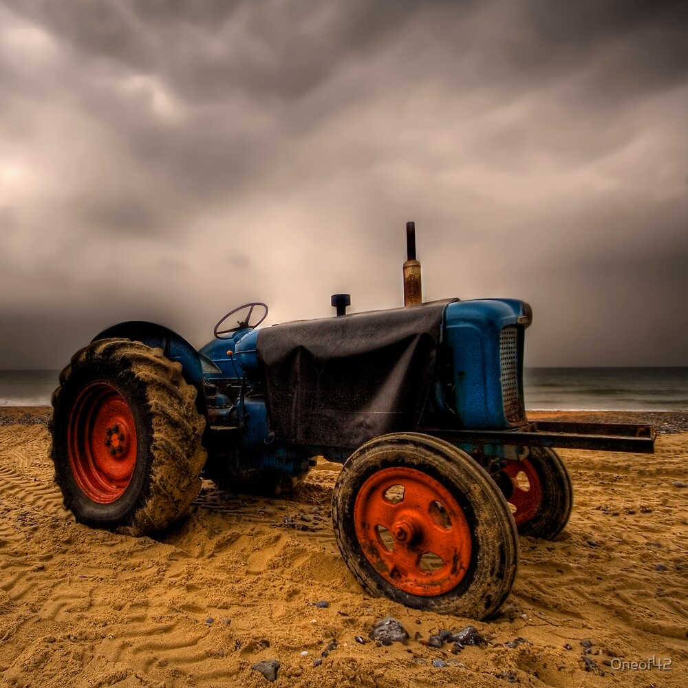 Beach Tractor by Oneof42