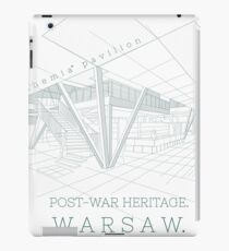 Architecture Warsaw Post-war Modernism - Pawilon Chemia iPad Case/Skin
