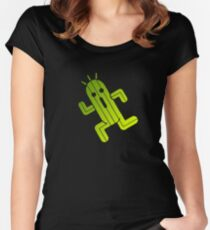 Cactuar Women's Fitted Scoop T-Shirt