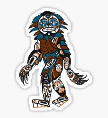 Bigfoot Rising Sticker