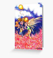Carnival Abduction Greeting Card
