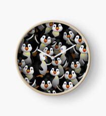 Stupid penguins Clock