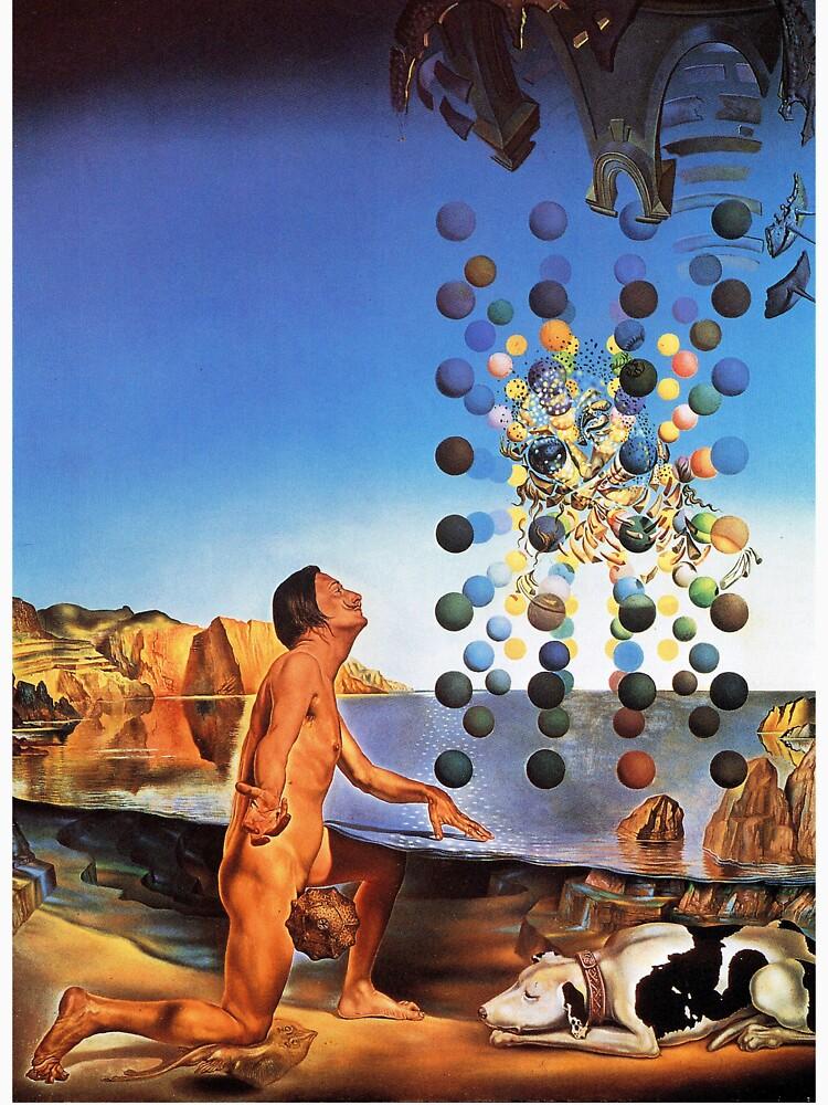 Salvador Dali Surrealismus Berühmte Maler Poster von tanabe