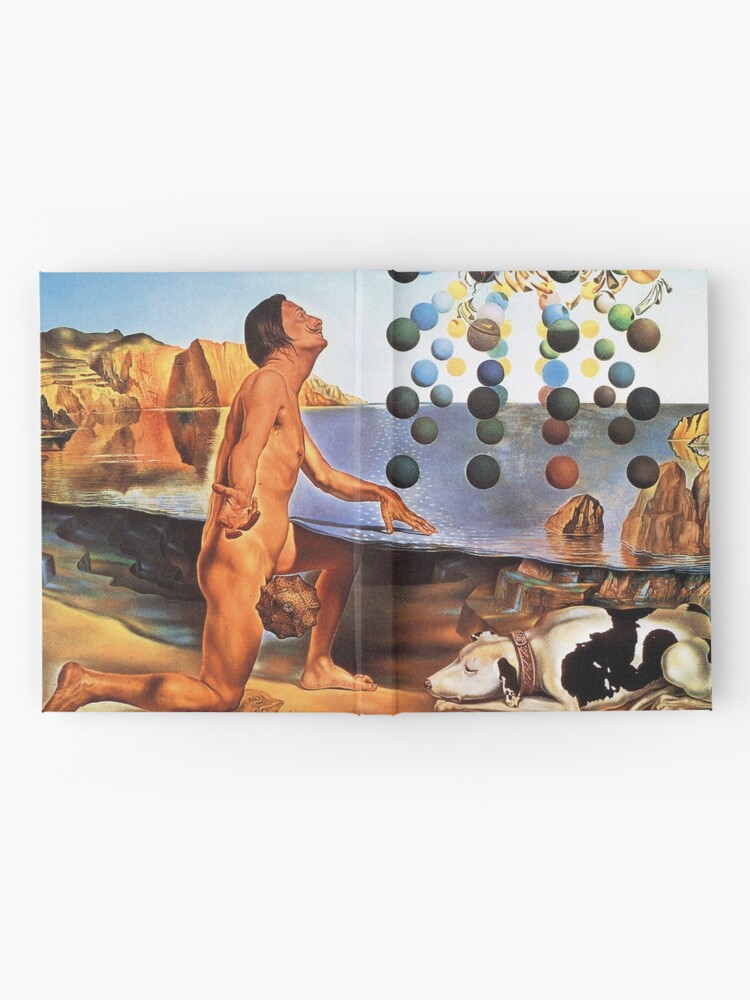 Alternative Ansicht von Salvador Dali Surrealismus Berühmte Maler Poster Notizbuch