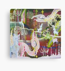 Save the Octopus Canvas Print