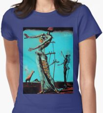 Salvador Dali Burning Giraffe Surreal Famous Painters T-Shirt