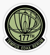 john titor time travel Sticker