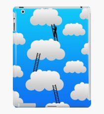 reaching top ladder blue sky iPad Case/Skin