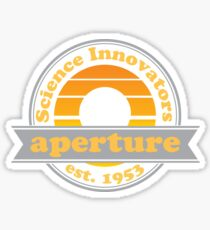 Aperture Science Innovators: Retro Sticker