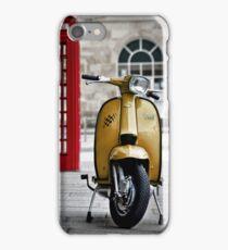 Yellow Lambretta GP iPhone Case/Skin
