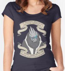 Weltraumfreund Tailliertes Rundhals-Shirt