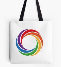 Colourised Spiraloid Tote Bag