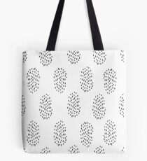 Simple hatch pattern. Hand drawn seamless background.  Tote Bag