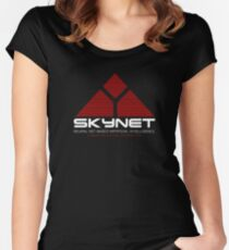Skynet Women's Fitted Scoop T-Shirt