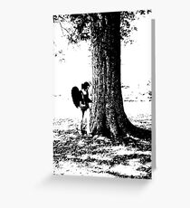 Standing By Greeting Card