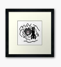 Thwompa Ice Cave Framed Print