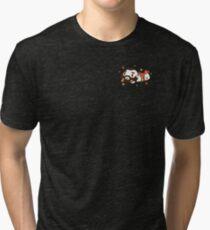 Zangief Flowers Tri-blend T-Shirt