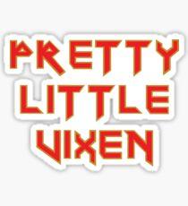 Pretty Little Vixen Sticker