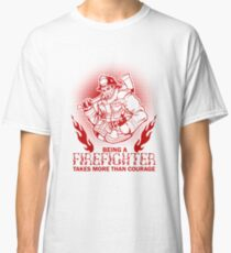 Firefighter Fireman Classic T-Shirt