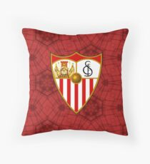 sevilla best logo Throw Pillow