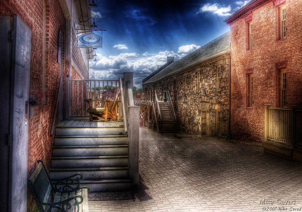 Side Alley by Mike  Savad