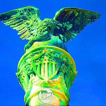 Eagle Monument 2 by jbattdesign
